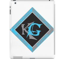 Two Tone Knockturnal Gaming logo iPad Case/Skin