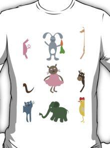 Cartoon film an animal T-Shirt