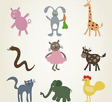 Cartoon film an animal by Aleksander1