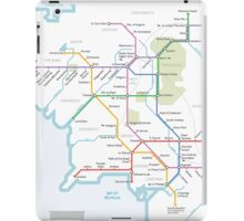 Middle Earth Transit Map iPad Case/Skin
