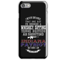 Indiana Patriot iPhone Case/Skin