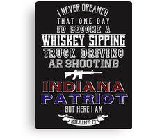 Indiana Patriot Canvas Print