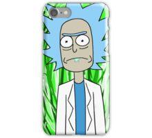 Rick Sanchez Portal iPhone Case/Skin