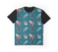 Robots Graphic T-Shirt