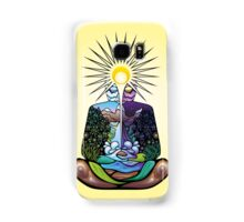 Psychedelic meditating Nature-man Samsung Galaxy Case/Skin