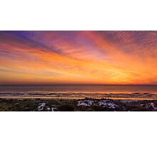 Colorful Coastal Daybreak Photographic Print