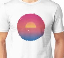 Sailboat in Sunset Unisex T-Shirt