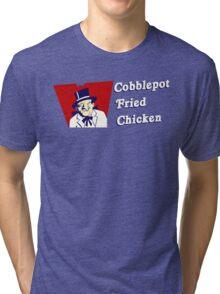 Cobblepot Fried Chicken Tri-blend T-Shirt
