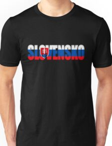 Slovakia Slovensko Flag  Unisex T-Shirt