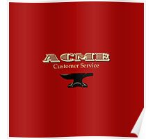 ACME Customer Service Poster
