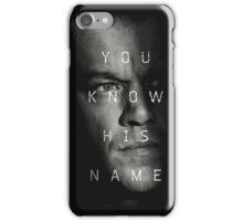 bourne iPhone Case/Skin