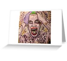 Clown Prince of Crime Greeting Card