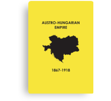 The Austro-Hungarian Empire Canvas Print