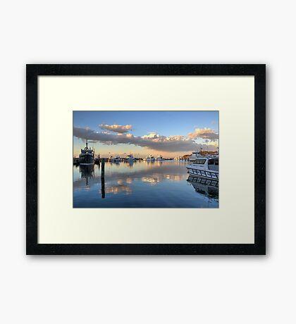 Ocean Sunset at Nelson Bay NSW Framed Print