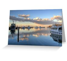 Ocean Sunset at Nelson Bay NSW Greeting Card