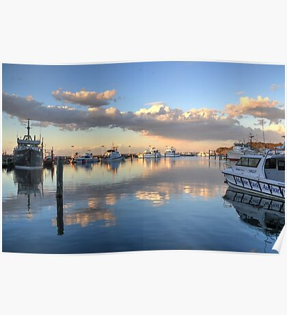 Ocean Sunset at Nelson Bay NSW Poster