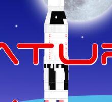 Saturn 5 Sticker