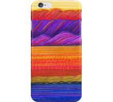 Pastel Art - Sunset Textures iPhone Case/Skin