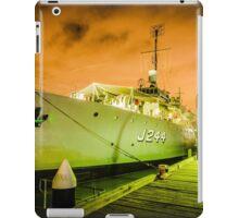 DRAMATIC NAVAL SHIP iPad Case/Skin