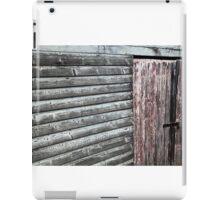 the door to Old Maldon - Australian gold rush town.  iPad Case/Skin