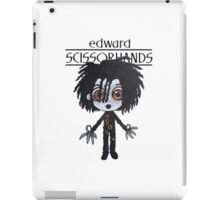 E. Scissorhands iPad Case/Skin