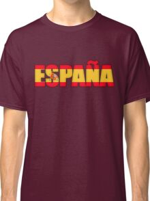 Spain Espana Flag  Classic T-Shirt