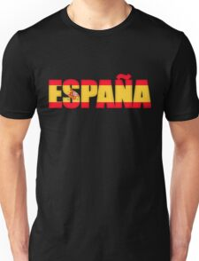 Spain Espana Flag  Unisex T-Shirt