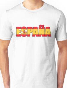 Spain Espana Flag  Unisex T-Shirt