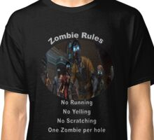 Zombie Rules Classic T-Shirt