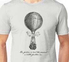 Jules Verne - The Future is but the Present Unisex T-Shirt