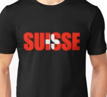 Switzerland Suisse Flag  Unisex T-Shirt