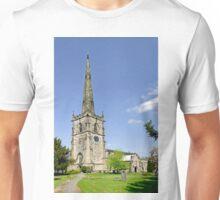 St Wystan's Church, Repton Unisex T-Shirt
