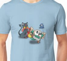 Litten Popplio and Rowlet Unisex T-Shirt
