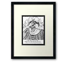 Father Gascoigne Transformation Framed Print