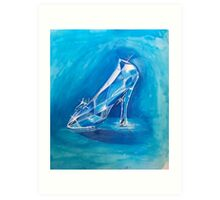 The Glass Slipper Art Print