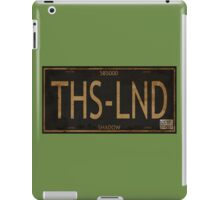 Serenity License Plate iPad Case/Skin