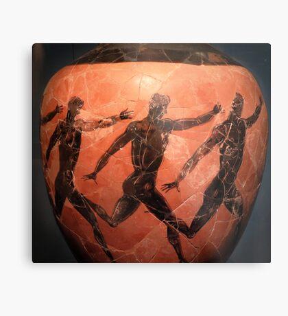 Ancient greek athletes Metal Print