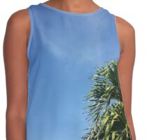Palm Branches Contrast Tank