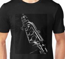Clarinet Solo in B&W Unisex T-Shirt