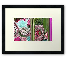 Al  Wahid Framed Print