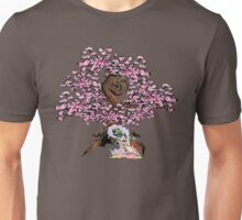 Sakuya & Ammy under a Cherry Blossom Tree Unisex T-Shirt