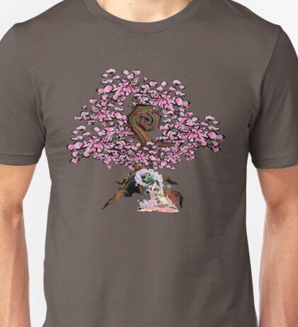 Sakuya & Ammy under a Cherry Blossom Tree Unisex T-Shirt