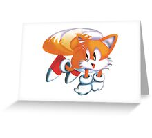 Tails - Sonic The Headgehog Greeting Card