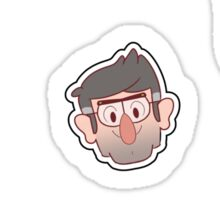 Gravity Falls Chibi Tiles Sticker