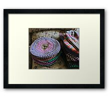 Crazy About Hats Framed Print