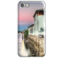 Pioneer River Mackay - Looking Past Paxton's Building iPhone Case/Skin