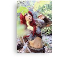 Skyrim Cosplay Canvas Print