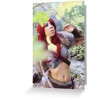 Skyrim Cosplay Greeting Card