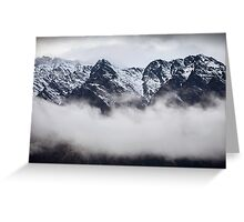 The Remarkables - Queenstown - NZ Greeting Card