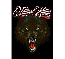 Tattoo Kultur - Wolf Photographic Print
